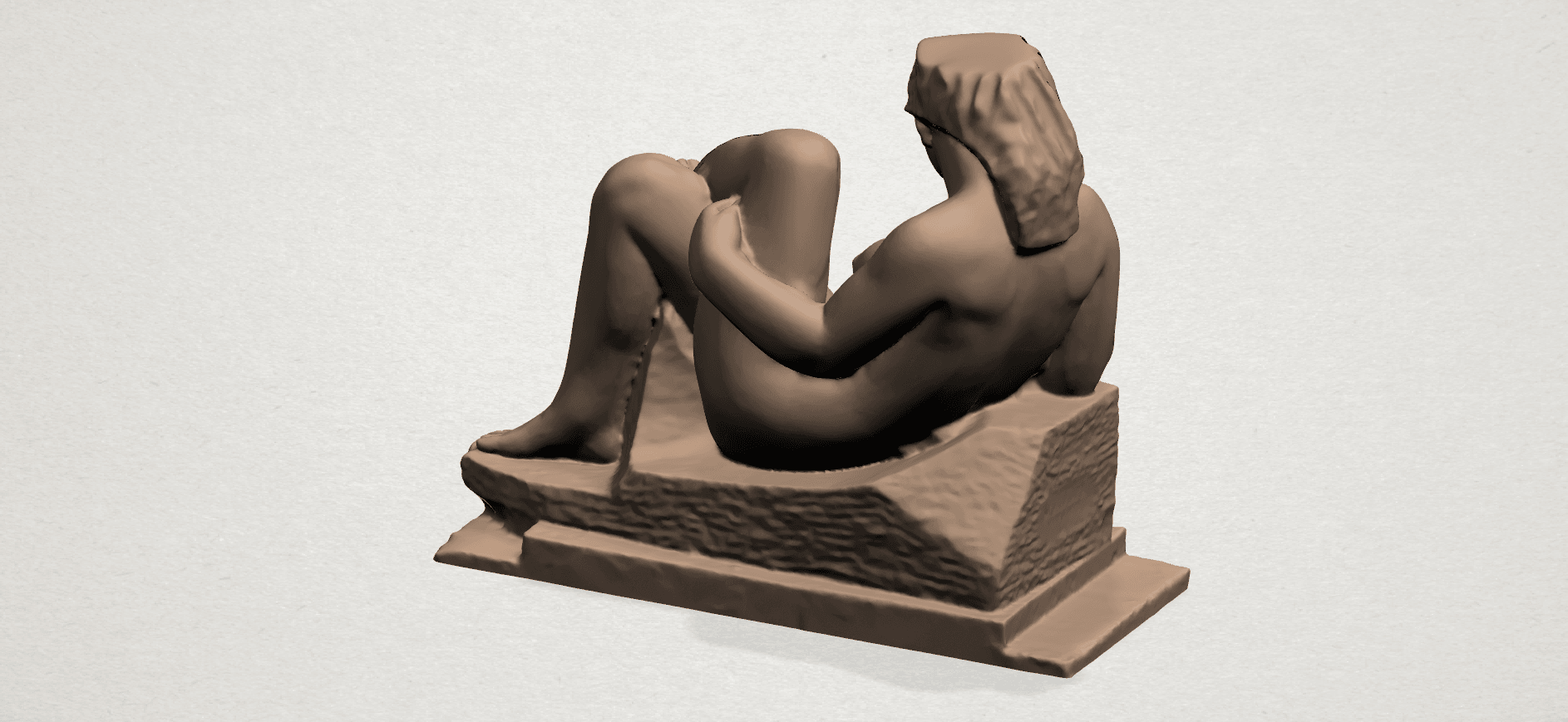 Naked Girl (xiii) A04.png Download free STL file Naked Girl 13 • 3D print design, GeorgesNikkei