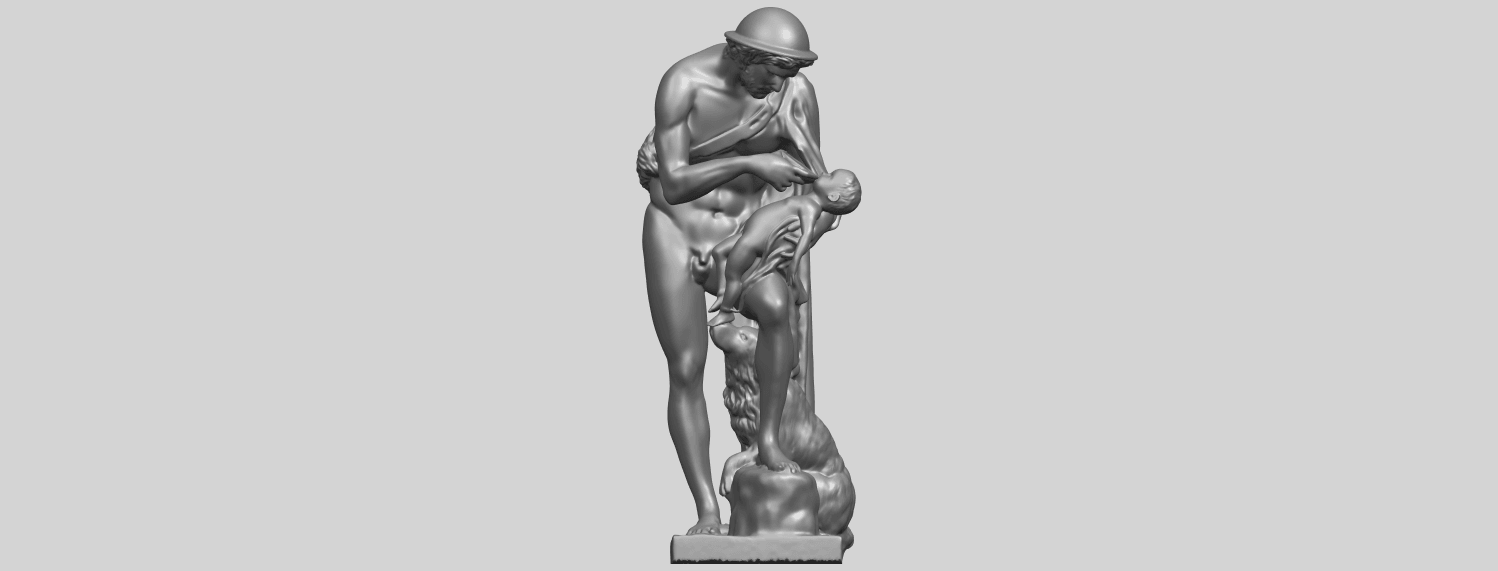 20_TDA0221_Father_and_Son_(iii)_88mmA01.png Download free STL file Father and Son 3 • 3D print model, GeorgesNikkei