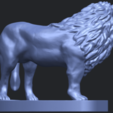 02_TDA0313_Lion_(iii)B07.png Download free STL file Lion 03 • 3D printable template, GeorgesNikkei