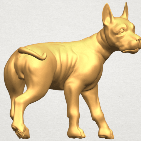 TDA0523 Bull Dog 04 A08.png Download free STL file Bull Dog 04 • 3D print design, GeorgesNikkei