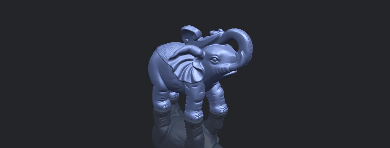 09_Elephant_02_150mmB00-1.png Télécharger fichier STL gratuit Eléphant 02 • Plan imprimable en 3D, GeorgesNikkei