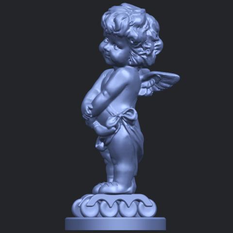 16_TDA0479_Angel_Baby_02B03.png Télécharger fichier STL gratuit Bébé Ange 02 • Plan pour imprimante 3D, GeorgesNikkei