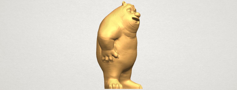 TDA0561 Bear Senior A06.png Télécharger fichier STL gratuit Bear Senior • Plan imprimable en 3D, GeorgesNikkei