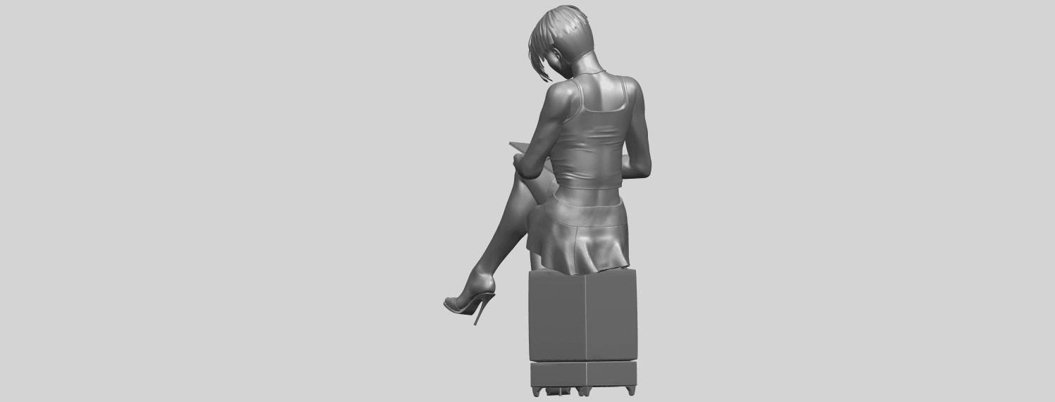 19_TDA0471_Beautiful_Girl_05_A05.png Download free STL file Beautiful Girl 05 • 3D printing template, GeorgesNikkei