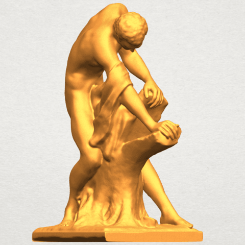 A08.png Download free STL file Milo of Croton • 3D printing design, GeorgesNikkei