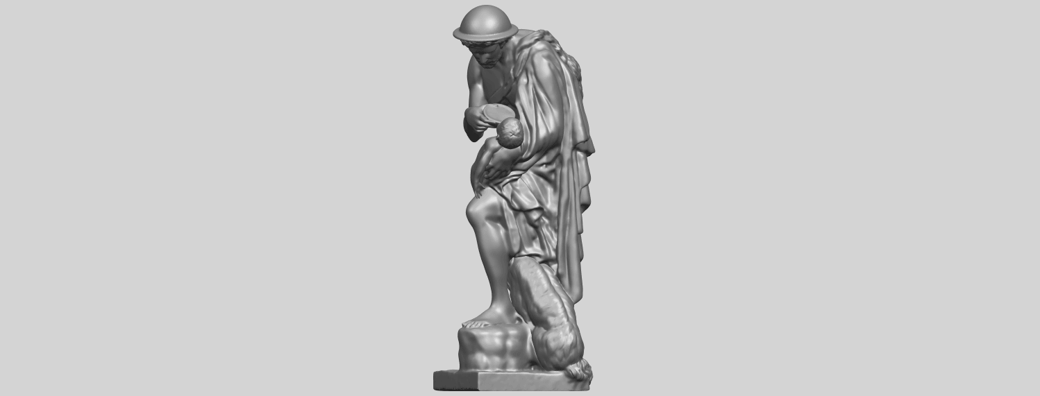 20_TDA0221_Father_and_Son_(iii)_88mmA03.png Download free STL file Father and Son 3 • 3D print model, GeorgesNikkei