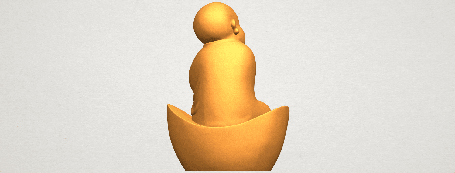 A07.png Download free STL file Little Monk 04 • 3D printer template, GeorgesNikkei