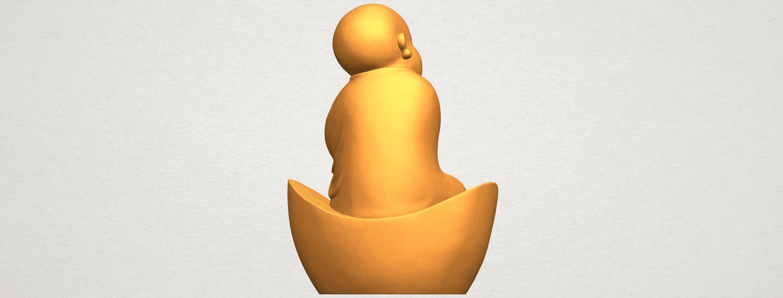 A07.png Télécharger fichier STL gratuit Petit Moine 04 • Modèle imprimable en 3D, GeorgesNikkei