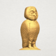 TDA0594 Owl 03 A08.png Download free STL file Owl 03 • 3D printing object, GeorgesNikkei