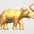 Imprimir en 3D gratis Elefante 06, GeorgesNikkei