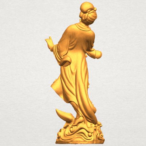 TDA0448 Fairy 03 A05.png Download free STL file Fairy 03 • 3D printable object, GeorgesNikkei