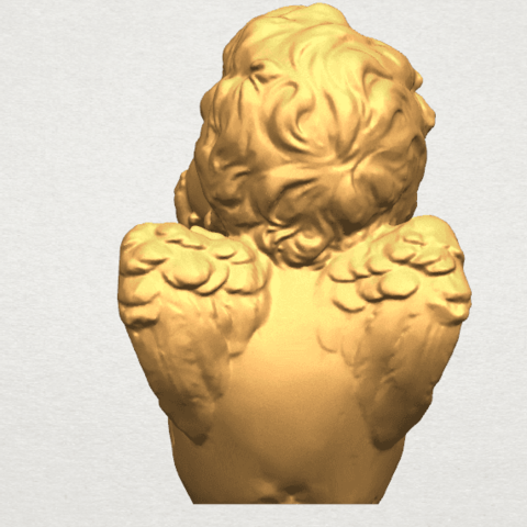 TDA0481 Angel Baby 04 A04.png Download free STL file Angel Baby 04 • 3D printable template, GeorgesNikkei