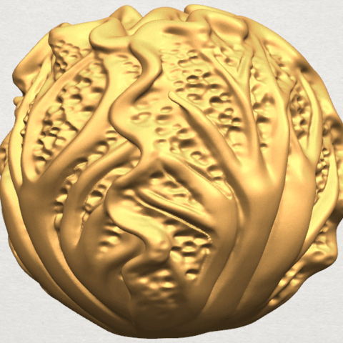 TDA0496 Cabbage A04.png Download free STL file Cabbage • 3D printer model, GeorgesNikkei