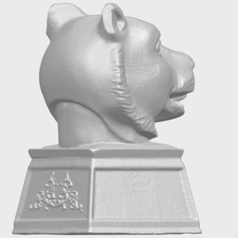 20_TDA0510_Chinese_Horoscope_of_Tiger_02A08.png Download free STL file Chinese Horoscope of Tiger 02 • 3D print object, GeorgesNikkei