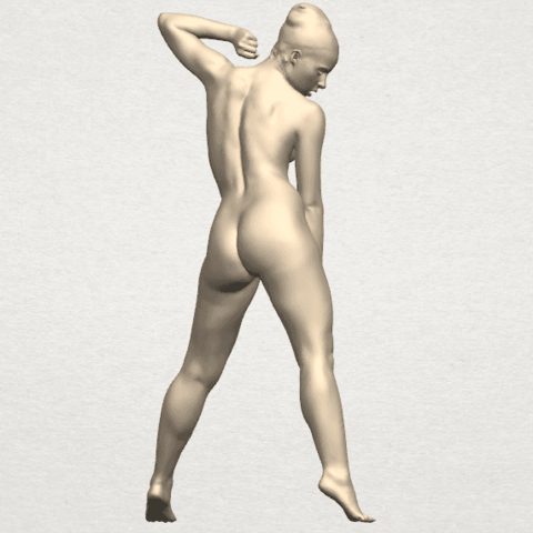 TDA0281 Naked Girl A08 05.png Download free STL file Naked Girl A08 • Template to 3D print, GeorgesNikkei