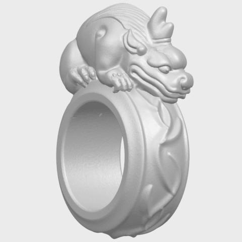 07_TDA0504_Pi_Xiu_RingA08.png Télécharger fichier STL gratuit Bague Pi Xiu Ring • Modèle à imprimer en 3D, GeorgesNikkei