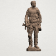 American Soldier A07.png Download free STL file American Soldier • Template to 3D print, GeorgesNikkei