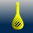 C01.png Download free STL file Necklaces - Twisted Vase • 3D print design, GeorgesNikkei