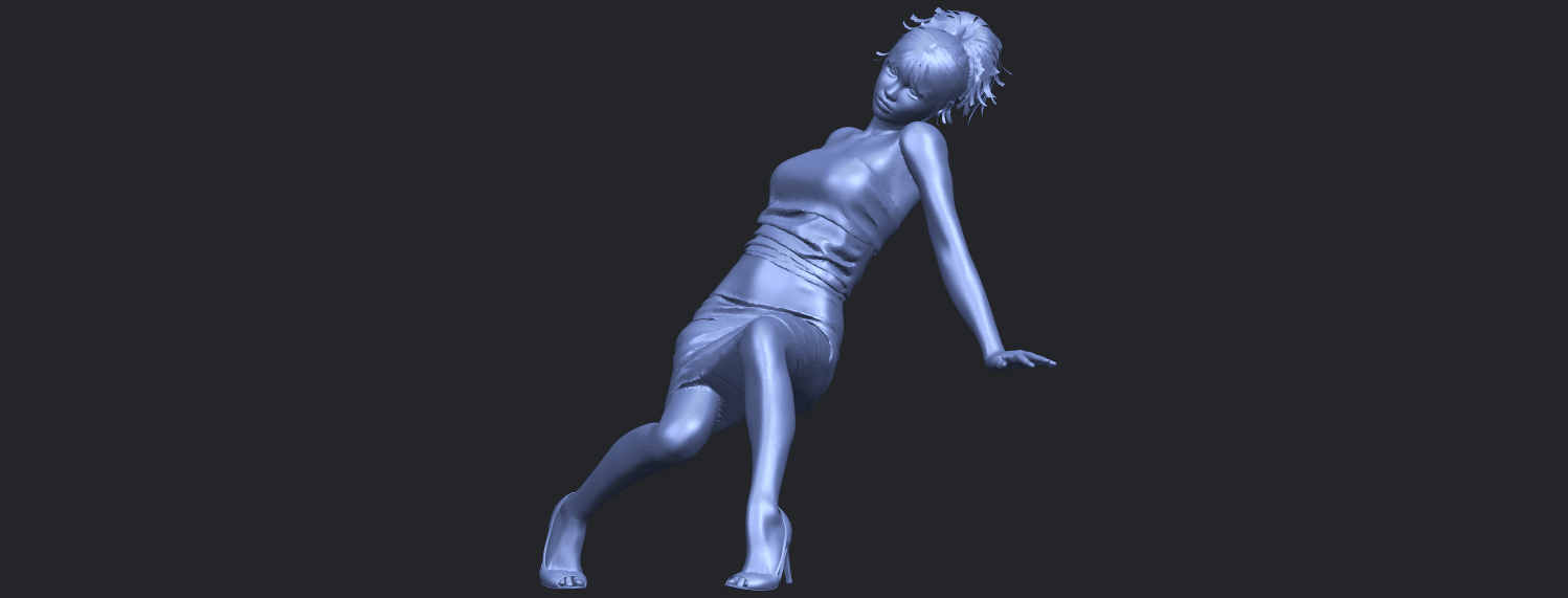 15_TDA0662_Naked_Girl_G10B02.png Download free STL file Naked Girl G10 • 3D printable template, GeorgesNikkei