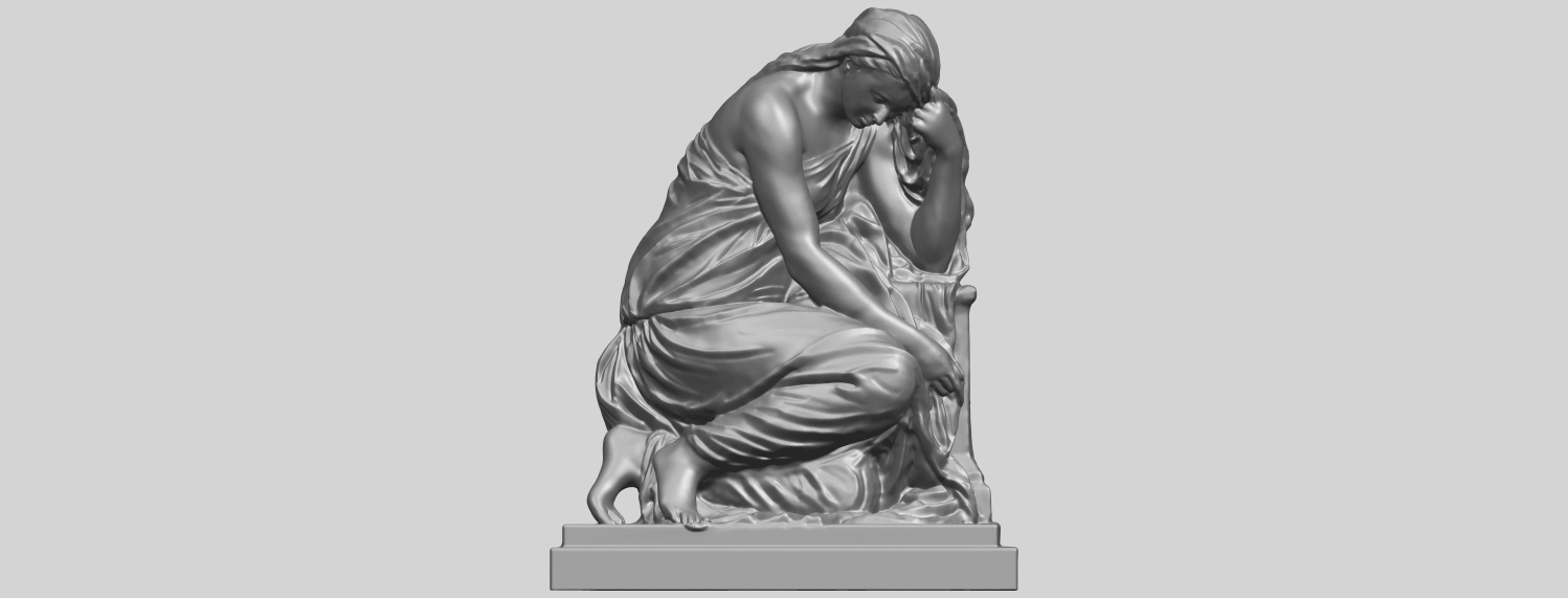 06_TDA0548_Sculpture_of_a_girl_02A01.png Download free STL file Sculpture of a girl 02 • 3D printable template, GeorgesNikkei
