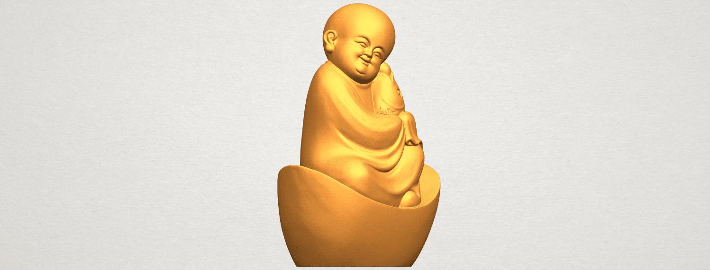 A10.png Télécharger fichier STL gratuit Petit Moine 04 • Modèle imprimable en 3D, GeorgesNikkei