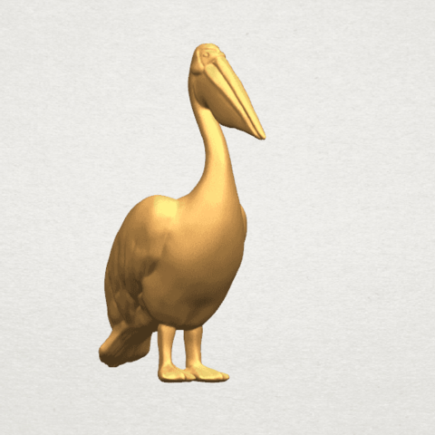 TDA0596 Pelican A07.png Download free STL file Pelican • 3D print model, GeorgesNikkei