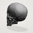 Download free 3D printing models Skull 01, GeorgesNikkei
