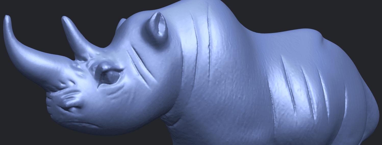 TDA0310_Rhinoceros_iiA10.png Download free STL file Rhinoceros 02 • 3D printing model, GeorgesNikkei
