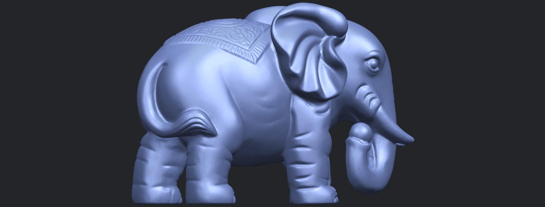 Elephant_03_-122mmB09.png Télécharger fichier STL gratuit Éléphant 03 • Modèle imprimable en 3D, GeorgesNikkei