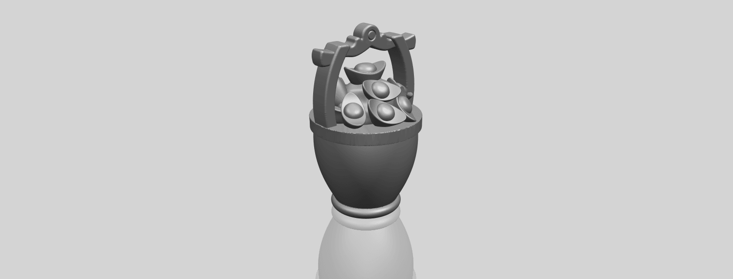 13_TDA0502_Gold_in_BucketA00-1.png Download free STL file Gold in Bucket • 3D print object, GeorgesNikkei