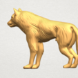 TDA0610 Wolf A02.png Download free STL file Wolf • 3D printable design, GeorgesNikkei