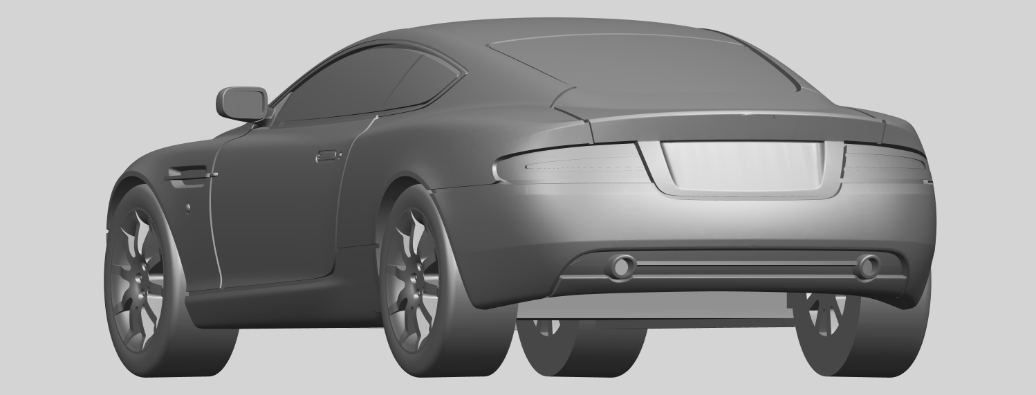 03_TDB006_1-50_ALLA03.png Download free STL file Aston Martin DB9 Coupe • 3D printer template, GeorgesNikkei
