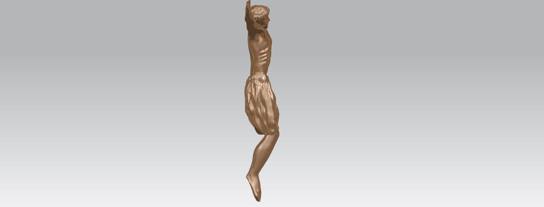 TDA0230 Jesus (iii) A05.png Download free STL file Jesus 03 • 3D printable template, GeorgesNikkei