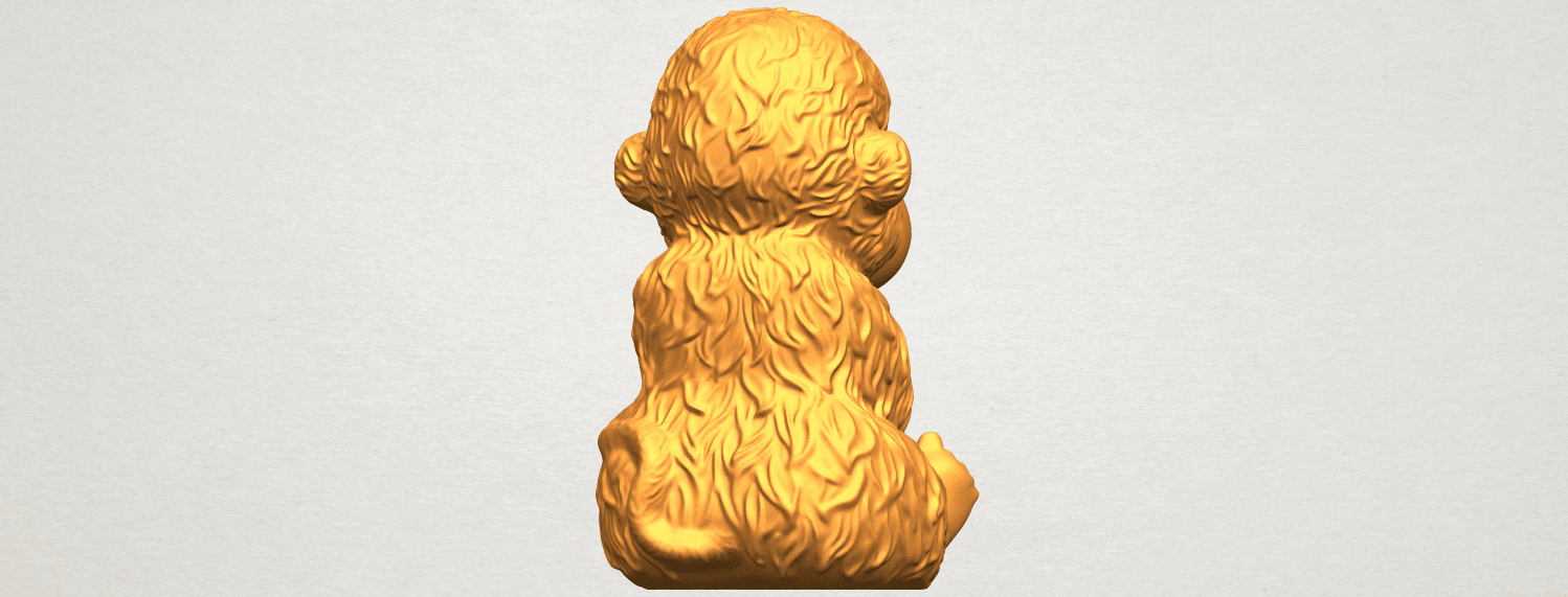 A07.png Download free STL file Monkey A01 • 3D printer model, GeorgesNikkei
