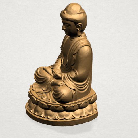 Gautama Buddha young - B03.png Télécharger fichier STL gratuit Gautama Bouddha Bouddha • Objet imprimable en 3D, GeorgesNikkei