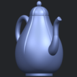 Download free 3D printer designs Tea Pot 02, GeorgesNikkei