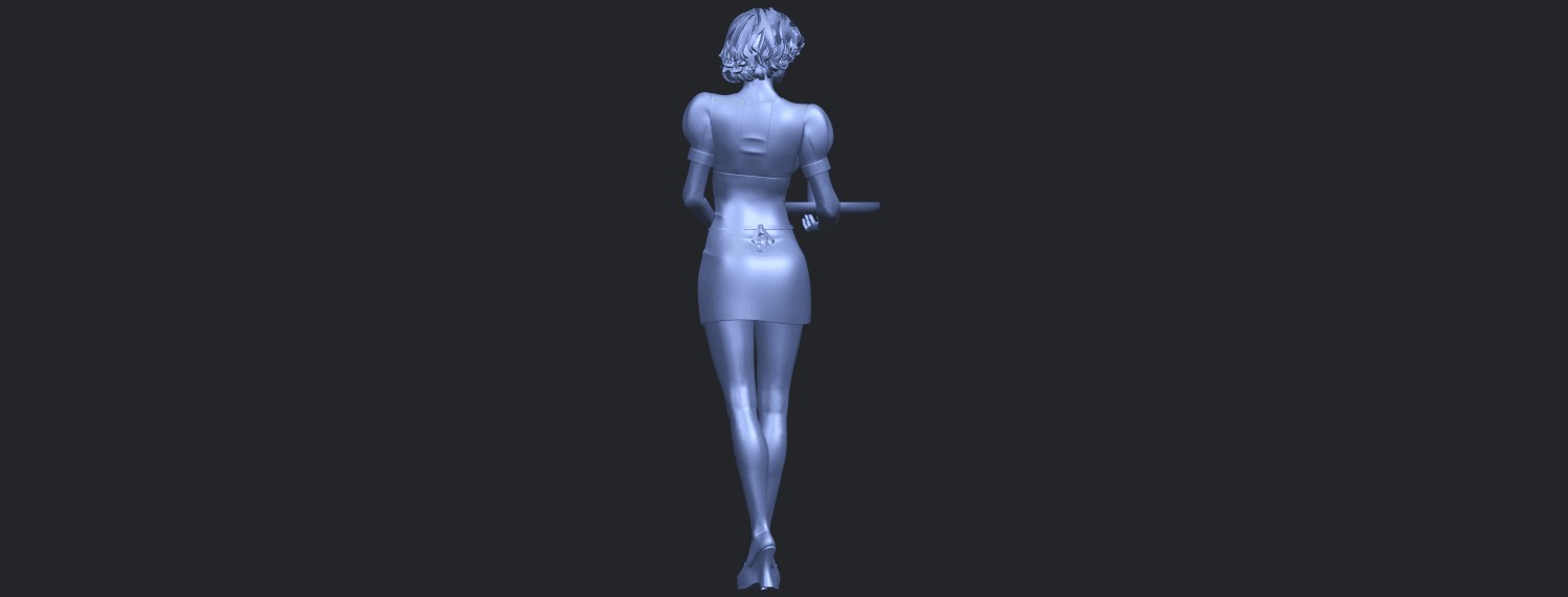 07_TDA0475_Beautiful_Girl_09_WaitressB07.png Download free STL file Beautiful Girl 09 Waitress • 3D printable object, GeorgesNikkei