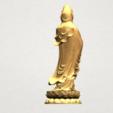 Download free STL file Avalokitesvara Bodhisattva - Standing 03 • 3D print template, GeorgesNikkei