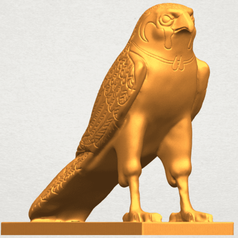 A08.png Télécharger fichier STL gratuit Aigle 04 • Design imprimable en 3D, GeorgesNikkei