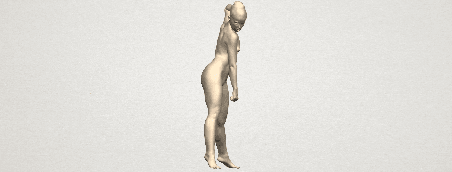 TDA0281 Naked Girl A08 06.png Download free STL file Naked Girl A08 • Template to 3D print, GeorgesNikkei