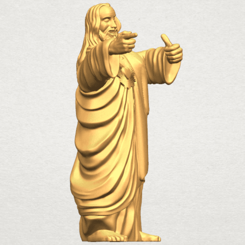 TDA0485 Jesus - Funny A07.png Download free STL file  Jesus - Funny • 3D printer template, GeorgesNikkei