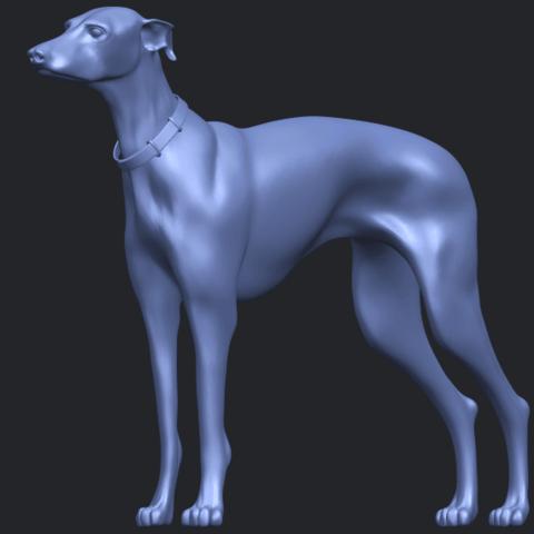 20_TDA0531_Skinny_Dog_03B05.png Download free STL file Skinny Dog 03 • 3D printer model, GeorgesNikkei
