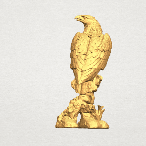 eagle - 88mm A04.png Download free STL file Eagle 01 • 3D printing design, GeorgesNikkei