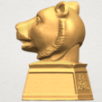 TDA0510 Chinese Horoscope of Tiger 02 A03.png Download free STL file Chinese Horoscope of Tiger 02 • 3D print object, GeorgesNikkei