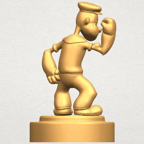 TDA0482 Popeye A05.png Download free STL file Popeye • 3D printer design, GeorgesNikkei