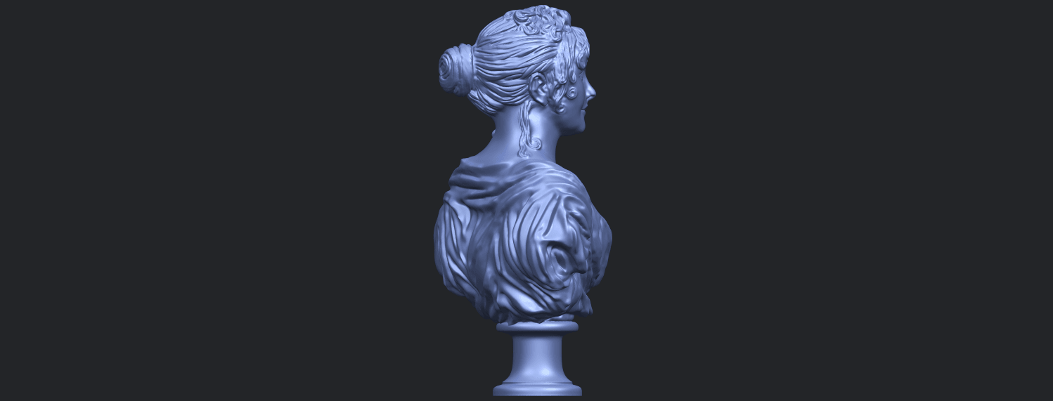 24_TDA0201_Bust_of_a_girl_01B08.png Download free STL file Bust of a girl 01 • Object to 3D print, GeorgesNikkei