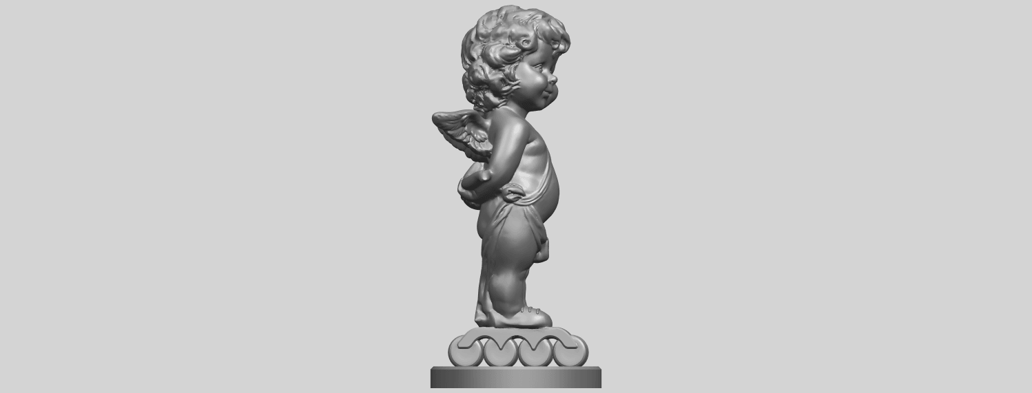 15_TDA0478_Angel_Baby_01A09.png Download free STL file Angel Baby 01 • 3D print template, GeorgesNikkei