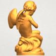 A08.png Télécharger fichier STL gratuit Cupidon 01 • Modèle à imprimer en 3D, GeorgesNikkei