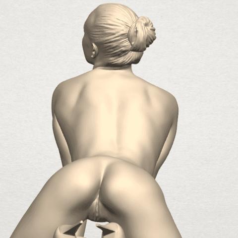 TDA0290 Naked Girl B07 10.png Télécharger fichier STL gratuit Fille Nue B07 • Objet pour imprimante 3D, GeorgesNikkei