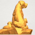 A05.png Download free STL file Dog and Puppy 02 • 3D print design, GeorgesNikkei